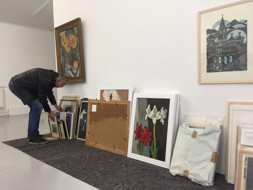 Einlieferung von Werken für KUNST UND GUT 2017