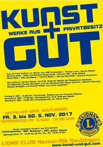 KUNST UND GUT Flyer 2017